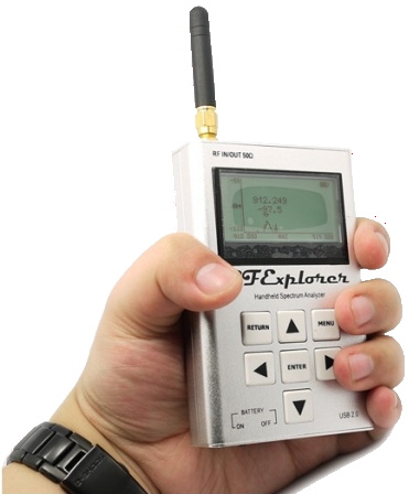 RF Explorer -- Handheld RF Spectrum Analyzer