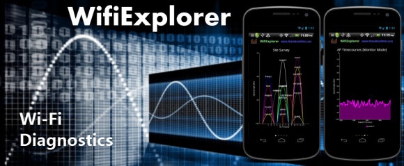 WifiExplorer 802.11 Network Discovery