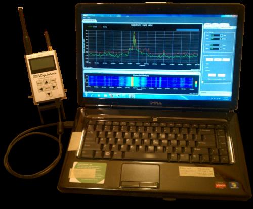Touchstone-Pro RF Spectrum Analyzer Software