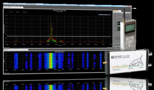 Clear Waves -- RF Spectrum Analyzer