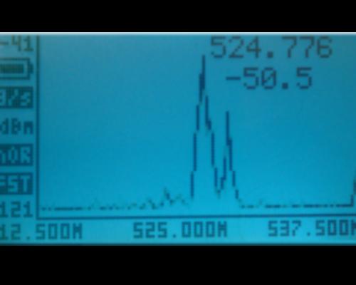 RF Explorer Spectrum Analyzer